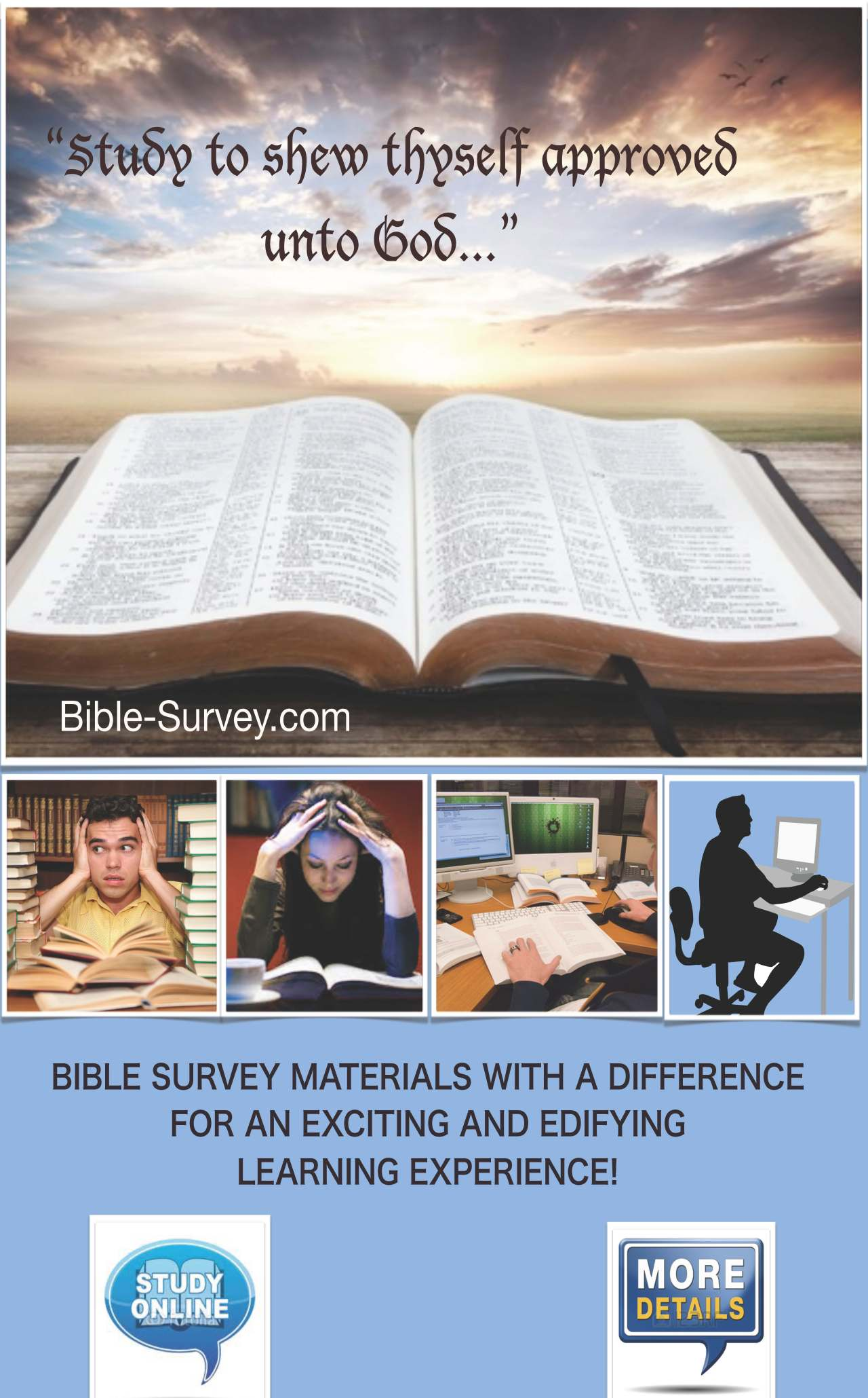 Pages 1 Bible-Survey.com Opener